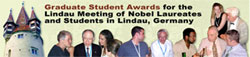 Graduate Student Awards for the Lindau Meeting of Nobel Laureates and Students in Lindau, Germany