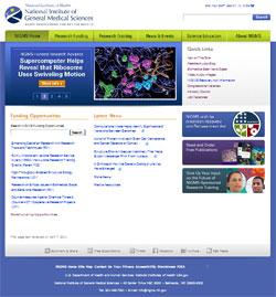 Redesigned NIGMS Web site