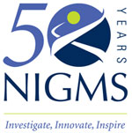 NIGMS 50th Anniversary Logo