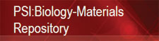 PSI:Biology-Materials Repository banner