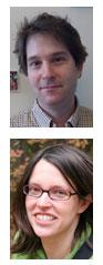 Photo of Neils Ringstad (top) and Erica Larschan (bottom).
