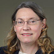 Headshot of Susan Gregurick.