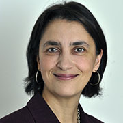Headshot of Tanya Hoodbhoy.